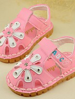 Girl's Sandals Summer Sandals Casual Flat Heel Magic Tape Pink / White Others