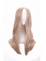 Europe And The United States Golden Curls Points High Temperature Wire Euramerican Fashion Wig