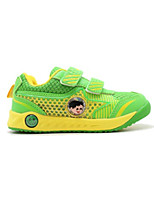 Unisex Sneakers Spring / Fall Comfort PU Casual Flat Heel Magic Tape Blue / Green / Red Others