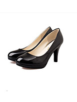 Women's Heels Summer Patent Leather Casual Stiletto Heel Others Black Red White Beige Others