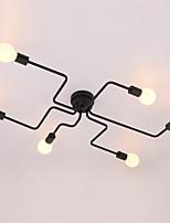 Max 60W צמודי תקרה ,  מסורתי/ קלאסי / סגנון חלוד/בקתה / וינטאג' / רטרו / גס צביעה מאפיין for סגנון קטן מתכתחדר שינה / חדר אוכל / מטבח /