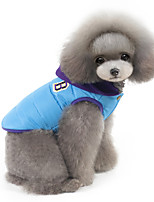 Pet dog clothes, warm color Vest Jacket(Assorted Color,Assorted Size)