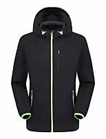 Hiking Softshell Jacket Men'sWaterproof / Breathable / Anti-Eradiation / Wearable / Windproof / Sweat-wicking /