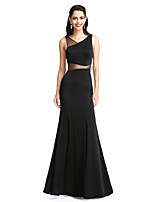 TS Couture® Formal Evening Dress Sheath / Column V-neck Floor-length Jersey with