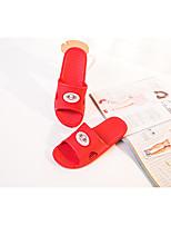 Unisex-Slippers & Flip-Flops-Lässig-PVC-Flacher Absatz-Komfort-Blau / Grün / Rot / Grau