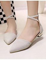 Women's Sandals Summer Sandals PU / Leatherette Outdoor Flat Heel Others Black / Blue / Almond Others