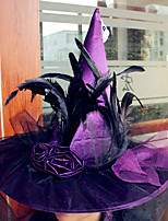 Halloween Witch Hat For Halloween Costume Accessory Hats Costume Party Props Stage Cosplay Suppllies