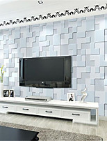 Geometric Wallpaper For Home Contemporary Wall Covering  Non-woven fabric Material Adhesive required Wallpaper