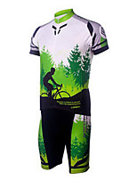 Sports Bike/Cycling Clothing Sets/Suits Men's Short Sleeve Breathable / Comfortable / Sunscreen Terylene Classic