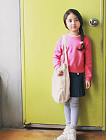 Girl's Casual/Daily Solid LeggingsPolyester Spring / Fall Pink / Gray