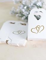 Без персонализации-Коробочки / Горшки и банки для конфет / Подарочные коробки(Черный / Белый,Картон) -Свадьба / Годовщина / Девичник /