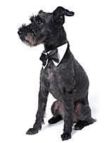 Classic Gentlemen Style Tie Dog Accessories for Pets Dogs Christmas Clothing (Assortd Sizes and Colours)