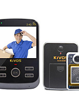 KiVOS KDB300M Intelligent Household Anti-Theft Doorbell Doorbell Cat Visual Integrated Wireless Monitoring Camera