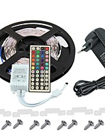 KWB 3528 LED RGB полосы света 300leds 44key источник питания ИК пульт дистанционного управления идеально подходит для всех видов стилей