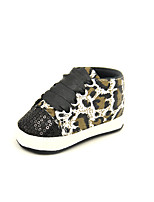 Boy's Sneakers Fall Flats Canvas Casual Flat Heel Others Black / Pink / Silver / Fuchsia Others