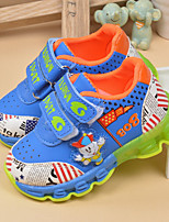 Unisex Sneakers Spring / Fall Comfort PU Outdoor / Athletic Flat Heel Others Blue / Brown / Red Sneaker