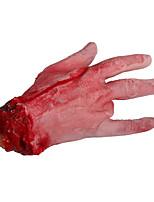 le sang du doigt personne 1pc main la tête du crâne de halloween balle pour la décoration de fête