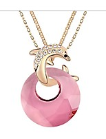 Thousands of colors Necklace Pendant Necklaces Jewelry Alloy Party Gold 1pc Gift