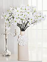 1 1 Филиал Пластик Сакура Букеты на стол Искусственные Цветы 27.5inch/70cm