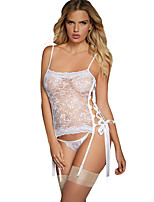 Women's Lace up Stretch Lace Bustier