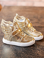 Unisex Sneakers Fall / Winter Flats PU Casual Flat Heel Others Silver / Gold Others