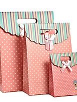 новый свежий пакет акций Korean творческий подарок мешок бумажный мешок большой высококлассные 24 * 10 * 32