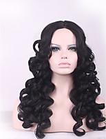 высокое качество реалистичная парик женщин крышка термостойкий U часть Afro Kinky фигурные парик синтетические волосы