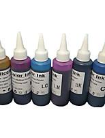 imprimante 6 couleurs pour l'encre (une couleur 6 une couleur 1 100ml / mois)