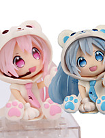 Vocaloid Hatsune Miku PVC 7cm Anime Action Figures Model Toys Doll Toy 1set