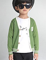 Boy's Casual/Daily Striped Sweater & CardiganWool Winter / Spring / Fall Green / Gray