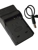 BCF10E cámara móvil cargador de batería de micro USB para Panasonic BCF10 e BCK7 DMC-FS15 FS25 fs6 fs7 TS1 FX40