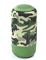 JKR 3306 Camouflage MiNi Portable Bluetooth Speaker Handsfree support audio input / TF card / Smartphone