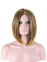 Harajuku Ombre Pelucas Pelo Natural Hair Wig Peruca Women Synthetic Wigs Short Wigs For Black Women Pelucas Sinteticas