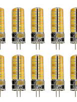 3 G4 LED Doppel-Pin Leuchten T 72 SMD 2835 460 lm Warmes Weiß / Kühles Weiß Dekorativ AC 12 V 10 Stück