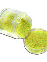 10g Dazzling Finest Mixed Colors Sugar Glitter Powder Decorations Tips Nail Art Pigment DIY Craft Powder #511-522