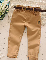 Boys' Casual/Daily Solid Pants-Cotton Spring Fall