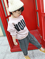 Girl's Casual/Daily Solid PantsCotton Winter / Fall Gray