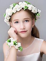 Women's Polyester Foam Resin Headpiece-Wedding Special Occasion Casual Office & Career OutdoorTiaras Headbands Flowers Hair Tie Wreaths