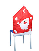 Half Stereo Non-Woven Christmas Old Man Chair Sets Christmas Decorations