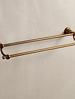 Bathroom accessories,Antique Brass Material Double Towel Bar