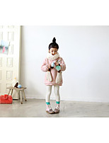 Girl's Casual/Daily Solid Down & Cotton PaddedWool / Others Winter / Fall Pink