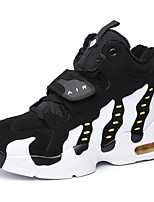 Unisex Athletic Shoes Fall / Winter Platform / Creepers Leatherette Outdoor / Athletic / Casual Platform Lace-up/ White Walking