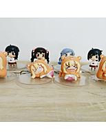 Himouto PVC 6cm Anime Action Figures Model Toys Doll Toy 1set