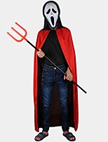 Cosplay Little Devil Black / Red Cotton / Polyester Cosplay Hoodies