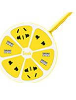 linha usb carregador de ficha (amarelo)