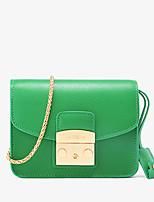 LaFestin Women Cowhide Shoulder Bag Blue / Green / Red / Black / Fuchsia-618630