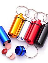 Key Chain Cylindrical High Quality Key Chain Rainbow / Red / Black / Green / Blue / Silver / Gold Metal / Aluminium