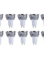 10pcs Pack  5W GU10 LED Bulbs - Warm white/white Spotlight - 420 Lumen 50Watt Equivalent - 45 Degree Beam Angle