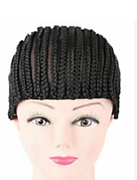 Wholesale 3pcs Cornrow Wig Cap For Making Wigs Adjustable Braided Wig Cap Weaving Cap For Glueless Lace Wig Making Sexy Hair Products