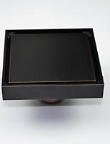 "Odtok / Naolejovaný bronz10CM(4"")*10CM(4"") /Mosaz /Vintage /10CM(4"") 10CM(4"") 0.6"
